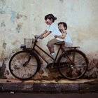 Inspirational Art: Street Art by Ernest Zacharevic