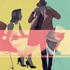 Inspirational Art: Vintage Mid-Century Illustrations by Jack Hughes