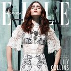 Magazine Creative: Lily Collins for Elle Canada