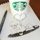 Inspirational Art: Coffee Cup Sketches