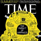 Magazine Creative: Time's Pursuit of Happiness Cover