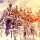 Inspirational Art: Architectural Watercolors