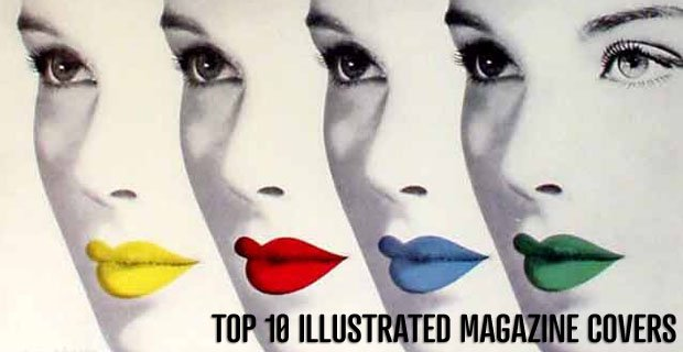 Top 10 Illustrated Magazine Covers