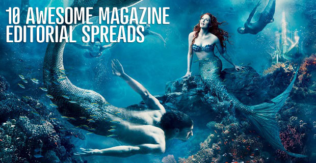 10 Awesome Magazine Editorial Spreads