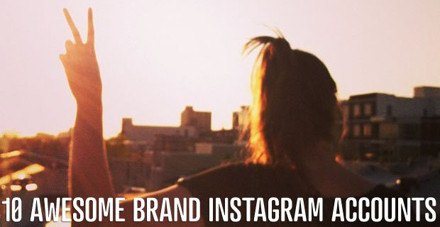 10 Awesome Brand Instagram Accounts