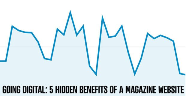 Going Digital: 5 Hidden Benefits of A Magazine Website
