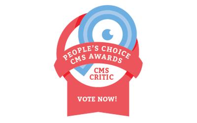 CMS Critic: People's Choice CMS Awards