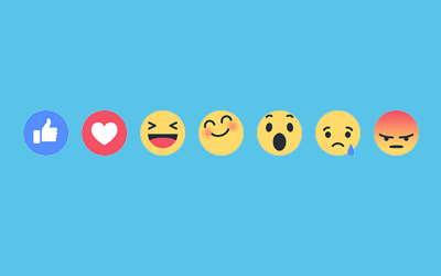 Facebook Rolls Out New Reaction Buttons Globally