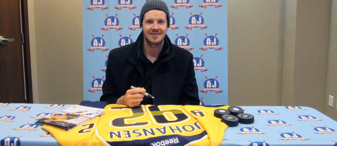 A.J. Sports Exclusive - Ryan Johansen