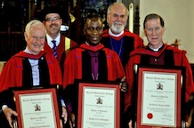 Huron awards three honorary degrees 