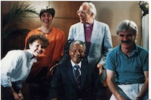 Nelson Mandela, anti-apartheid icon