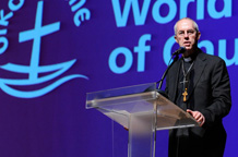 Welby, religious leaders address WCC