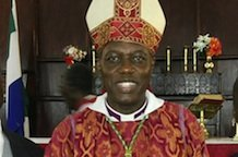 Archbishop Johnson of West Africa mourned