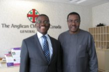Bugandan P.M. visits Canadian church