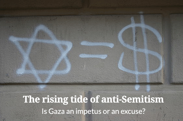 The rising tide of anti-Semitism