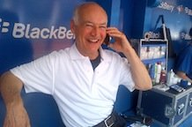 Sportsnet's Jerry Howarth gets into the spirit