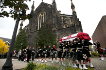 Funeral for fallen soldier Nathan Cirillo held at Anglican cathedral