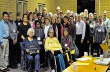 Diocesan reps gather for anti-racism consultation