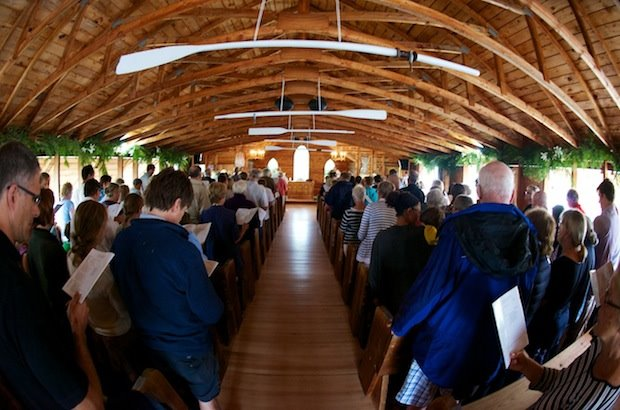 Island church marks 100th year