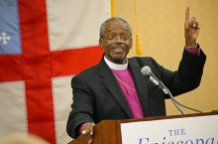 'Thankful, honored and blessed' Presiding Bishop-elect Curry addresses the media