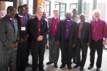 Dialoguing bishops walk Slave Trail