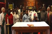 Day of prayer an emotional experience for Sudanese congregation
