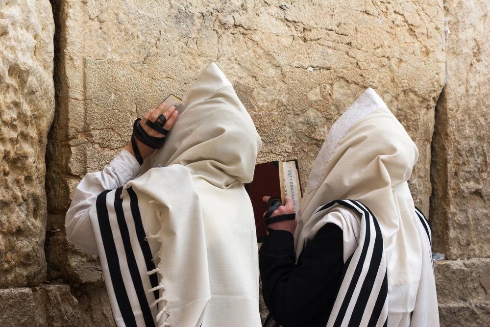 Jewish People Praying More than 70 per cent of jews