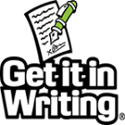 Federal Support for Get it In Writing!  Announced