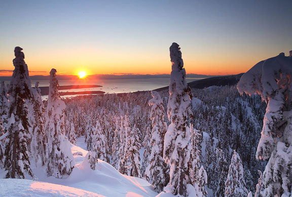 Mount Seymour @ Sunset
