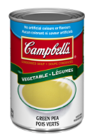 campbells condensed green pea