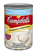 La soupe condensée Campbell's® Crème de champignons