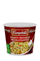 campbells hearty noodles savoury beef flavour