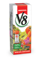 v8 original vegetable cocktail tetra 250 ml