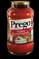 prego original pasta sauce 645 ml