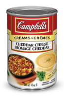 campbells condensed cheddar cheese