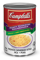 campbells condensed french canadian style pea