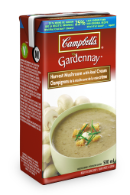 campbells gardennay harvest mushroom with real cream