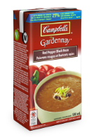 campbells gardennay red pepper black bean