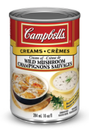 campbells condensed cream of wild mushroom