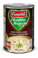 campbells healthy request new england clam chowder