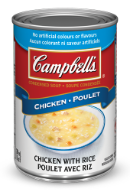campbells condensed chicken with rice