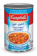 campbells condensed light vegetable