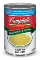 campbells condense pois verts