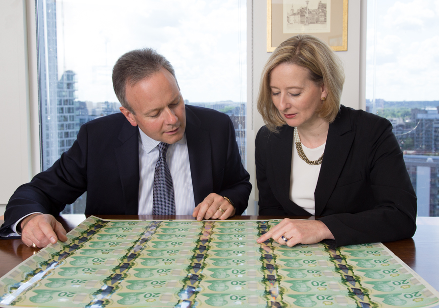 Bank of Canada Governor Poloz and SDG Wilkins, business optimism