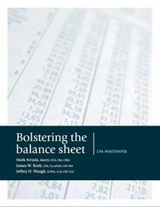 Bolstering the Balance Sheet