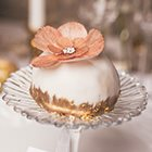 Soft and sweet white and rose gold wedding ideas