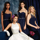 Different ways to co-ordinate your bridal and bridal party looks