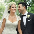 A Chic Wedding with Silver and Coral Details in Montreal, Quebec