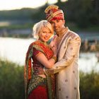 "A Colourful ""Hollywood Meets Bollywood"" Themed Wedding in Antigonish, Nova Scotia"