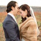 A Stunning Bohemian Rustic Vineyard Wedding in Jordan, Ontario